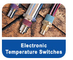 electronic temperature switches